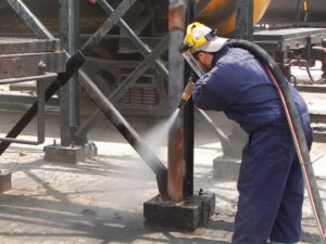 Dustless Blasting - Industrial